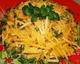 """Курица с картофелем """"По-корейски"""" – кулинарный рецепт"""
