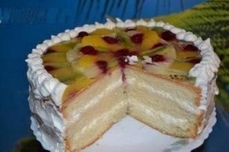 """Закусочный торт """"Пушистый"""""""