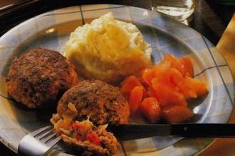Зразы со сладким перцем, пошаговый рецепт с фото